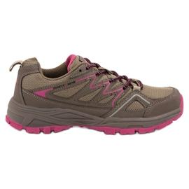 Hnědý Dámské trekkingové boty