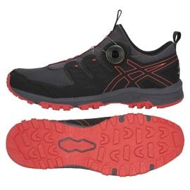 Černá Běžecká obuv Asics Gel Fuji Rado M T7F2N-020