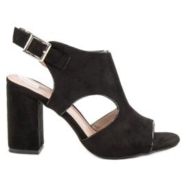 Vinceza Postavené Sandceza sandály černá
