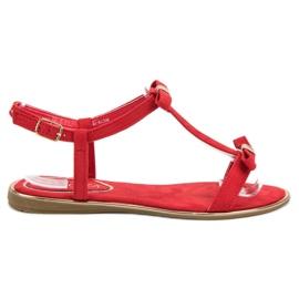 Sandčki s VINCEZA Bow červená