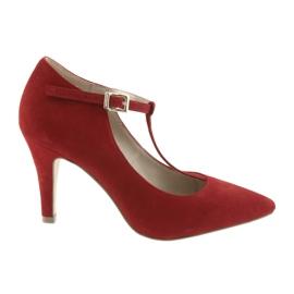 Dámská obuv červená Caprice 24400