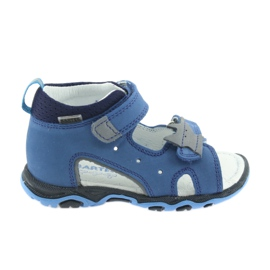 Sandály chlapecké řepky Bartek 51489 blue