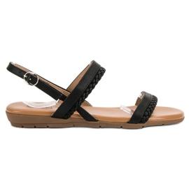 Cm Paris Neformální sandály černá