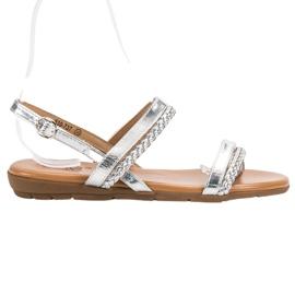 Cm Paris šedá Neformální sandály