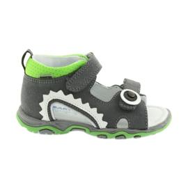 Sandály chlapecké čepice Bartek 51063 šedá