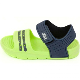 Sandály Aqua-speed Noli green navy blue col .84