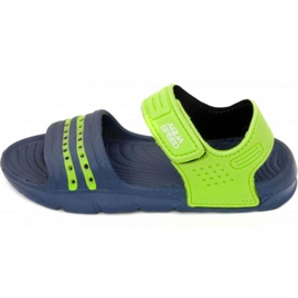 Sandály Aqua-speed Noli navy green Děti col.48