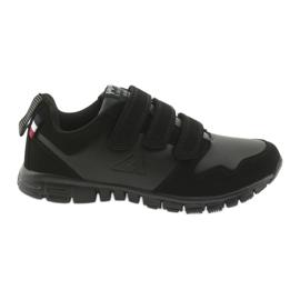 Sportovní obuv na suchý zip American Club FH16 černá