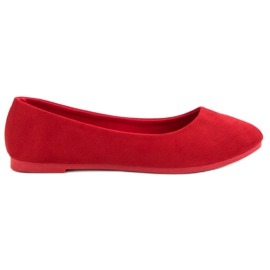 Seastar červená Pohodlná balerína