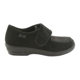 Černá Befado dámské boty pu 984D017