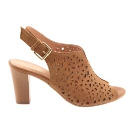 Prolamované sandály na Espinto 317 post