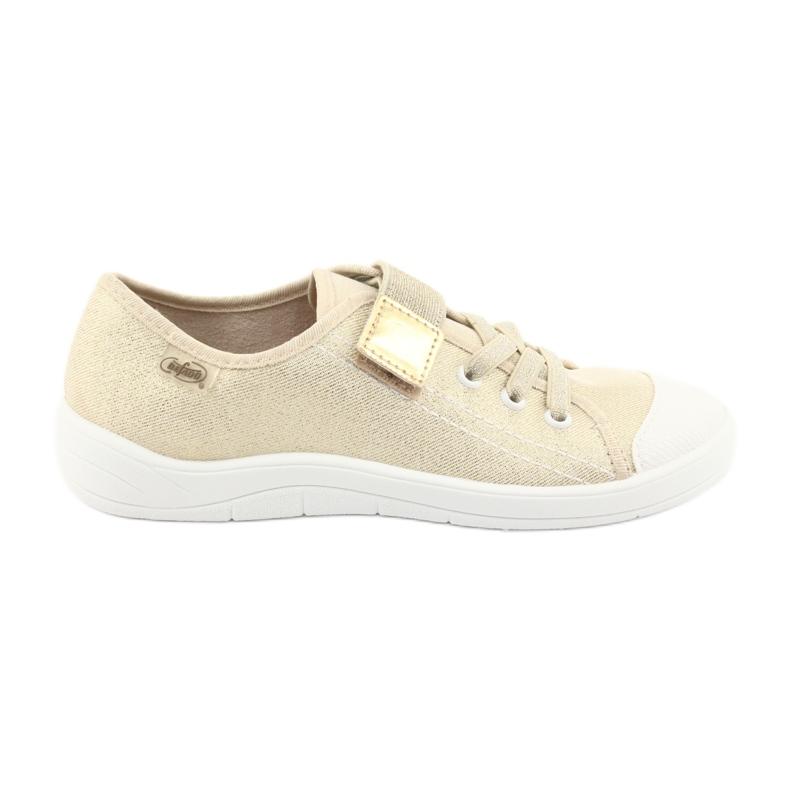 Žlutý Dětská obuv Befado 251Y071