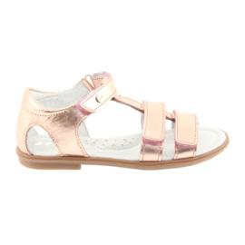 Dívčí sandály, růžové zlato, Bartek 56016