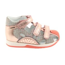 Bartek 81021 sandály růžové zlato