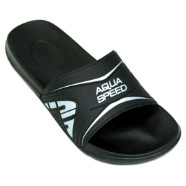 Černá Pantofle Aqua-Speed Dakota M col.7