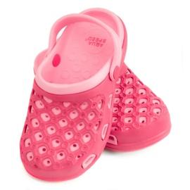 Růžový Pantofle AQUA-SPEED Itaka Jr 03 496