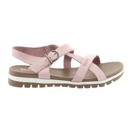 Růžový Dámská obuv Big Star 274971
