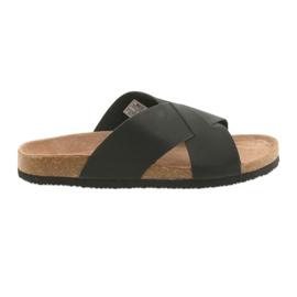 Pánské profi pantofle Big Star 174603 black černá