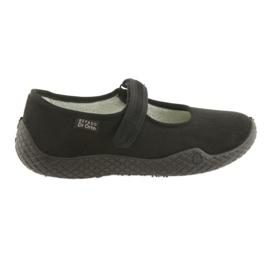 Černá Befado dámské boty mladé 197D002