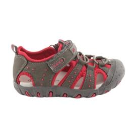 Sandály chlapci suchý zip American Club DR11