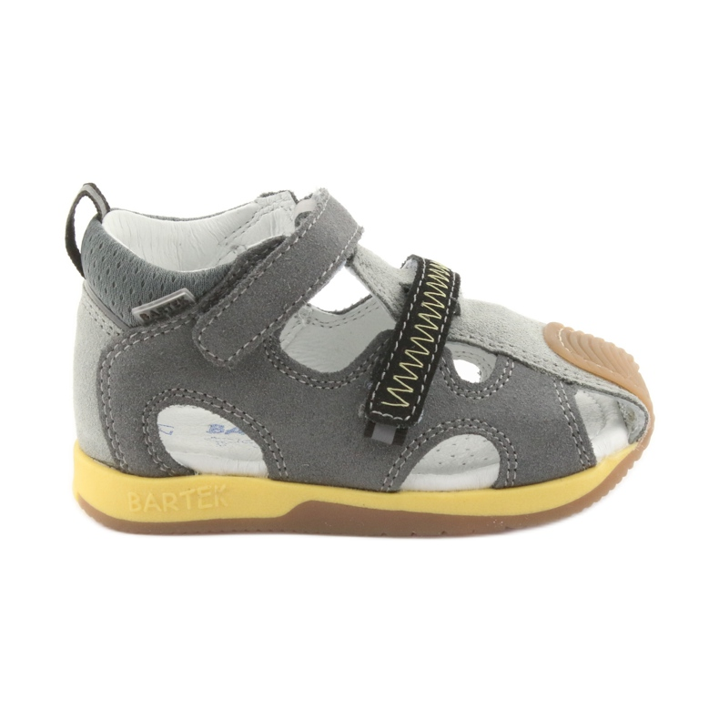Sandály chlapecké čepice Bartek 81772 šedá