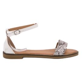 Laura Mode Klasické ploché sandály