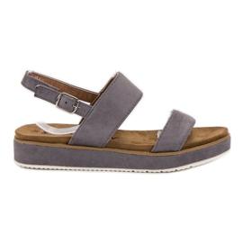 Goodin šedá Šedé sandály