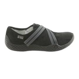Černá Befado dámské boty pu - mladé 434D014