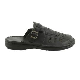 Naszbut černá Pánské pantofle 047 černé