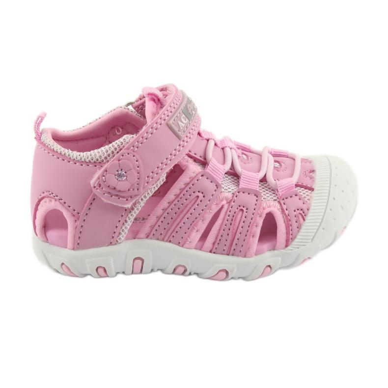 Sportovní sandály American Club růžový