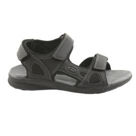 American Club Americké sportovní sandály HL08 cz černá