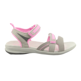 Dámské sandály American Club HL12 šedá