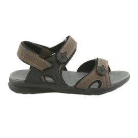 American Club Americké sportovní sandály HL09 černá / khaki