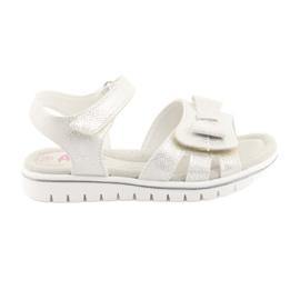 Sandály bílé perly American Club GC25
