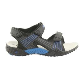 American Club Americké kluby HL15 chlapecké sandály černé