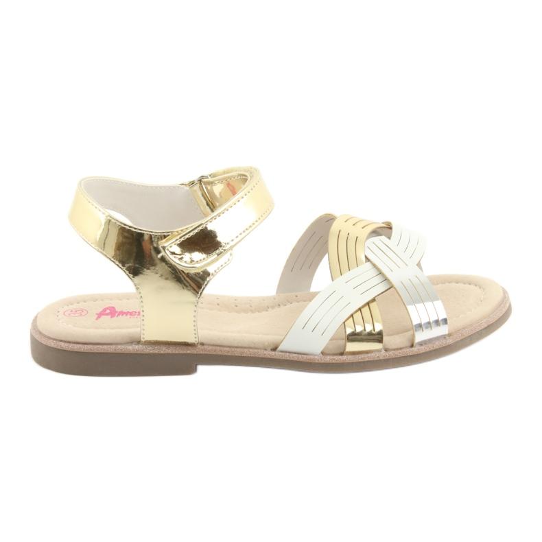 Sandály kovové holky American Club GC23