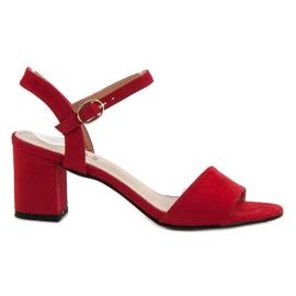 Evento červená Sandály Na Baru