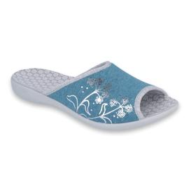 Modrý Dámské boty Befado pu 254D102