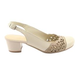 Dámské sandály Gregors 771 béžové hnědý