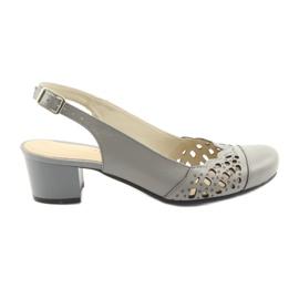 Dámské sandály Gregors 771 šedá