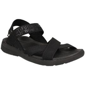 4F Sandály W H4L19-SAD002 20S černá