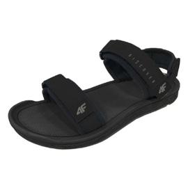 Sandály 4F M H4L19-SAM001 20S černá