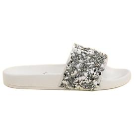 Seastar bílá Elegantní bílé pantofle