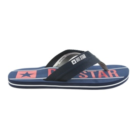 Pánské pásky Big Star 174658 navy blue