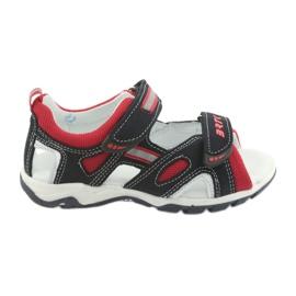 Sandály chlapecké čepice Bartek 16176 navy-red