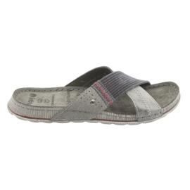 Pánské šedé pantofle Inblu GG009