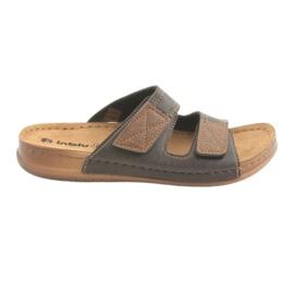 Pánská obuv Inblu TH015 hnědá hnědý