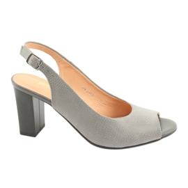 Dámské venkovní sandály Espinto S274 šedé šedá
