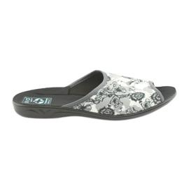 Dámské pantofle Adanex 23981 šedá