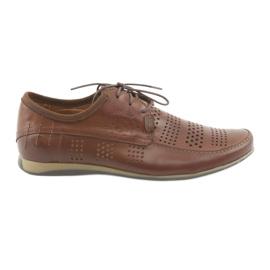 Hnědý Pánská sportovní obuv Riko 694 brown